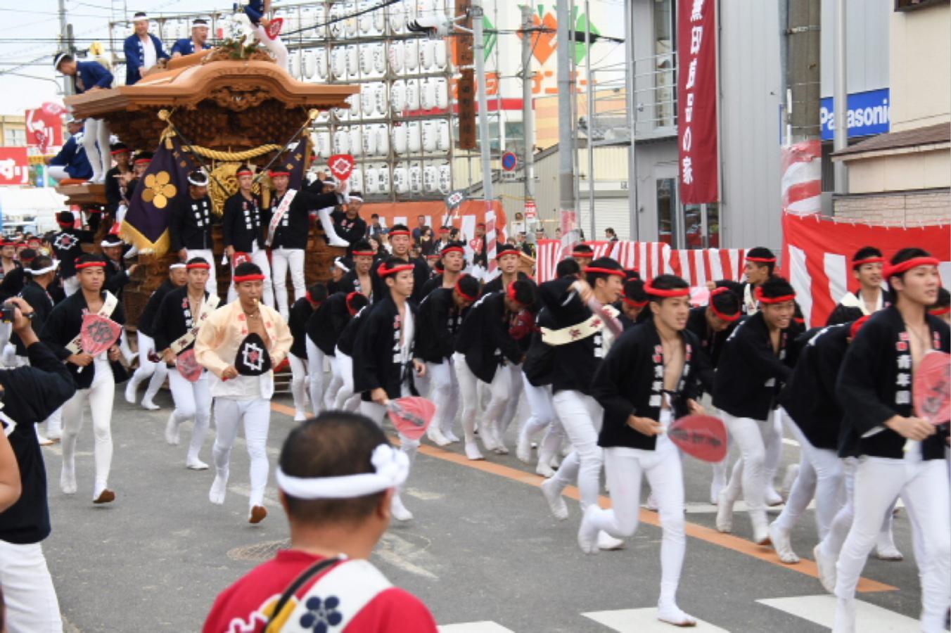 岸和田だんじり祭り